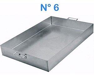 Forma Assadeira De Alumínio N° 6 52 X 35 Linha Hotel Alças