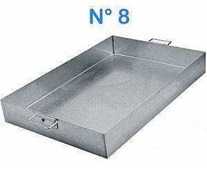 Forma Assadeira De Alumínio N° 8 62 X 41 Linha Hotel Alças