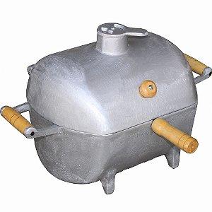 Churrasqueira a Bafo de Alumínio Fundido Pequena