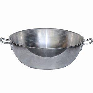 Tacho de Alumínio N° 45 Para 15,8L Pasteis Salgados Batatas e Mais