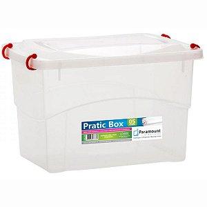 Caixa Plástica Pratic Box 5 Litros Multi Uso