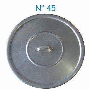Tampa Avulsa N° 45 de Alumínio com Alça
