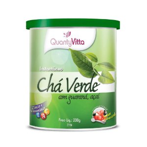Chá Verde com Guaraná e Açaí - Solúvel sabor Guaraná