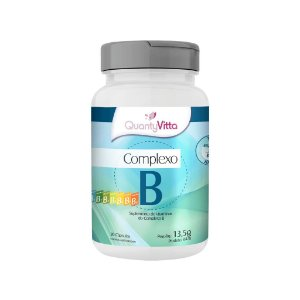 Complexo B - Suplemento de Vitaminas do Complexo B em cápsulas