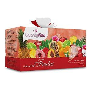 Linha de Chás Frutas - 8 sabores - 5 sachês cada sabor - 60g - QuantyVitta