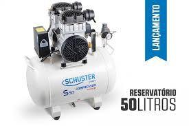 COMPRESSOR SCHUSTER S50 LITROS A SECO  220 VOLTS