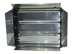 Refletor luz fria 6 x 55w sem dimer, sem lampada e sem tripe