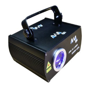 Laser awa 500mw azul ilda / dmx