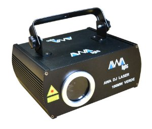 Laser awa 100mw verde ilda / dmx