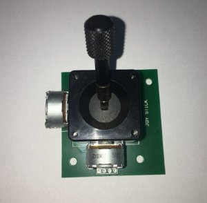 kit joystick para mesa holle 512 dmx com knob