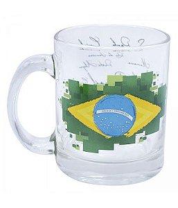 Caneca Brasil - bandeira