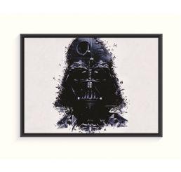 Pôster Emoldurado - Darth Vader