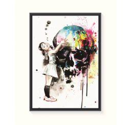 Pôster Emoldurado - Color Decor