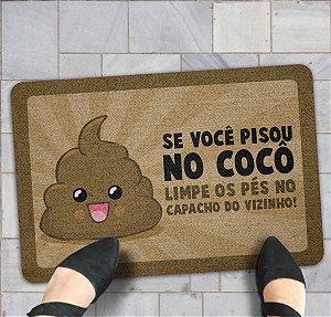 CAPACHO SE VOCÊ PISOU NO COCÔ