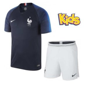 Kit Infantil Seleção da França Home 2018/2019-S/Nº