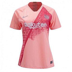 Camisa Feminina Barcelona Third 2018/2019-S/N°