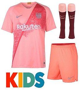 Camisa Barcelona 20th Anniversary 2018 2019-S Nº - Rei do Futebol 0b3f426b3826d