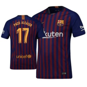Camisa Barcelona Home 2018/2019-Paco Alcacer Nº17