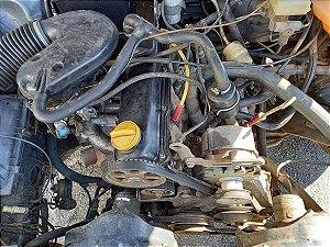 Motor AP 2.0 à álcool - Com baixa no Detran e nota fiscal - Fumando