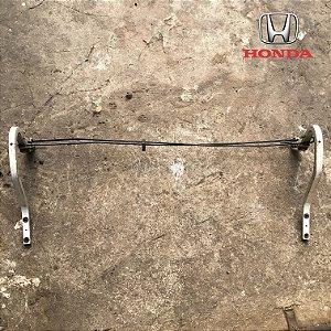 Par Braço Com Mola Tampa Traseira - Honda Civic 97 á 00