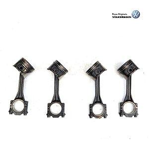 Jogo biela/pistão Volkswagen motor AT 0.25