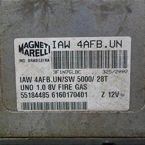 Módulo de injeção Fiat Uno Fire 1.0 8v gasolina desbloqueado