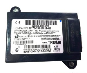 Módulo do bluetooth Honda Civic LXS 2014 original P/N : 39770-TR8M011M1