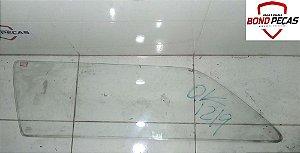 Vidro da porta traseira lado esquerdo do Gol Quadrado 91 á 95 2 portas