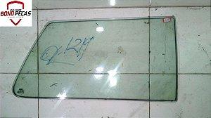 Vidro da porta traseira lado direito do Uno 85 á 2014
