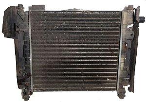 Radiador com ventoinha do Ford KA - Zetec Rocam 2001 à 07