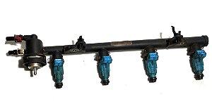 Flauta com bicos injetores - Ford KA / Fiesta Zetec Rocam 1.0 gasolina