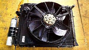 Radiador e Condensador/Ventoinha Renault Clio 1.6 8v Original
