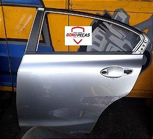 Porta  Honda Civic Traseira Esquerda Original Recuperado 2012 á 2015