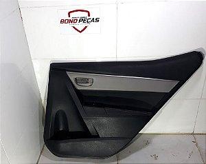 Forro Porta Toyota Corolla Xei De 2015 Á 17 - Traseiro Dir