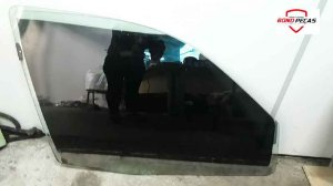 Vidro da Porta Clio Dianteiro Direito 1999 á 2012