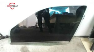 Vidro da Porta Clio Dianteiro Esquerdo 1999 á 2012