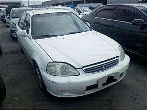 Sucata do Honda Civic LX 1.6 16V Automático - 99 /2000