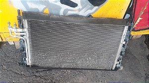 Conjunto radiador e condensador original Ford Focus - 2009 à 13