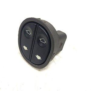 Botão duplo de vidro elétrico motorista Ford Ka original