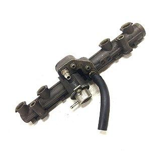 Flauta do bico injetor de ferro Palio 1.0 1.5