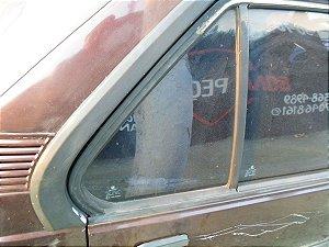 Vidro fixo porta traseira direita original Monza 91 à 96