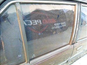 Vidro porta traseira direita original Monza 91 à 96