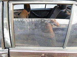 Vidro porta traseira esquerda original Monza 91 à 96