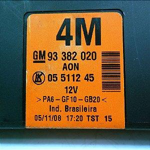 Módulo de vidro elétrico Meriva 03 à 12 - 93382020