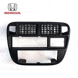 Moldura Central Comando De Ar Painel - Honda Civic 97 á 00