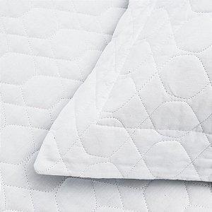 737648f50e Colcha Matelassê Vida Bela + Porta Travesseiro Branca