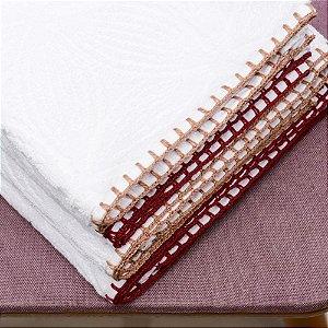 Toalha Jacquard Ponto Crochet