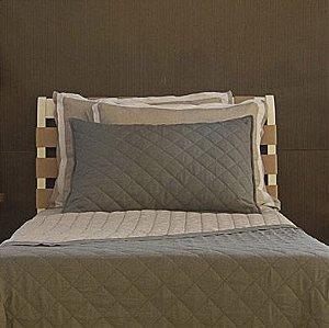 Colcha Linho Granada Ratan + Porta Travesseiro