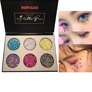 Paleta Glitter Prensado - Beauty Glazed