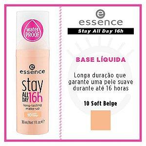 Base Líquida Stay All Day 16h - 10 Soft Beige - Essence